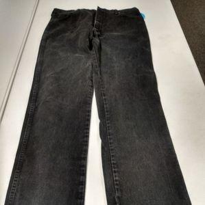 Wrangler 36x36 Black Jeans